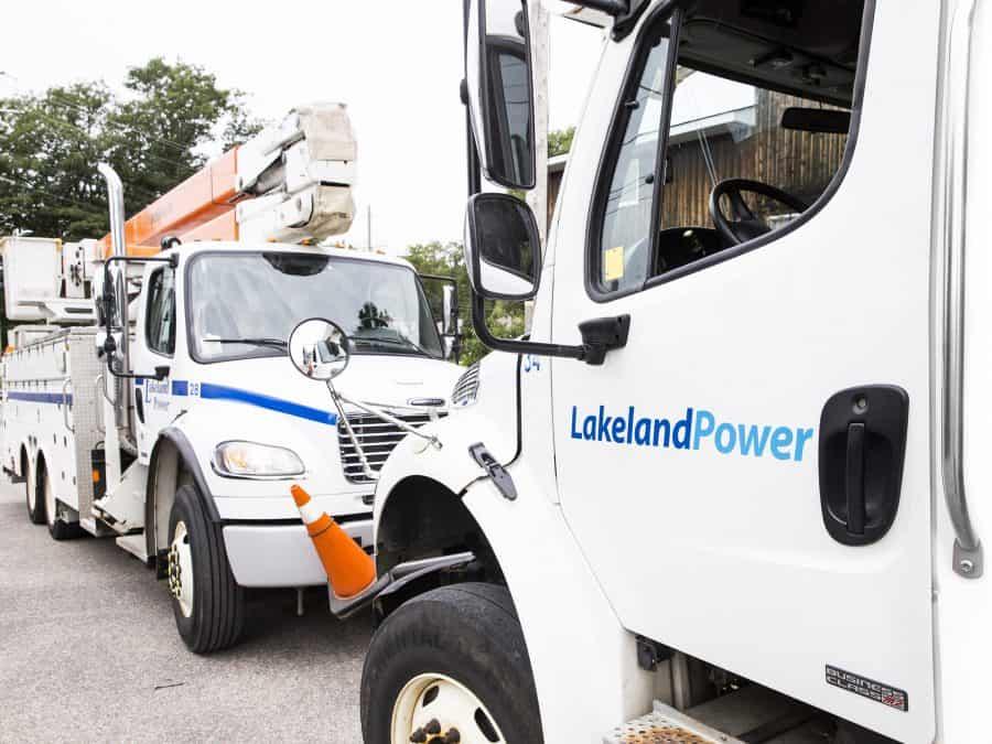 lakeland power service trucks